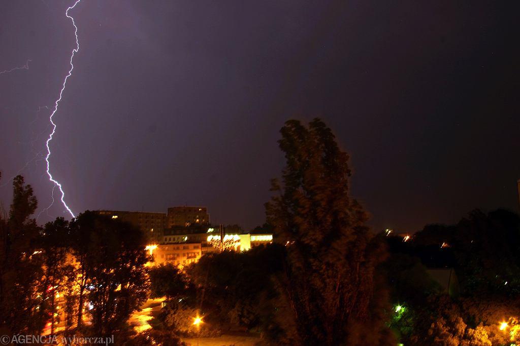 Gdzie jest burza? W piątek burze mogą wystąpić niemal w całym kraju