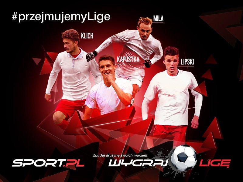 Drużyna Sport.pl w Wygraj Ligę