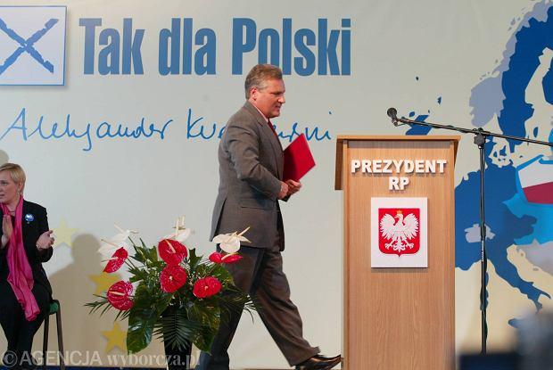 Kampania referendalna Aleksandra Kwaśniewskiego