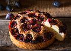 Ciasto ucierane ze śliwkami - najprostszy i najlepszy sposób na śliwki!