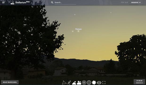 Koniunkcja Wenus i Merkurego