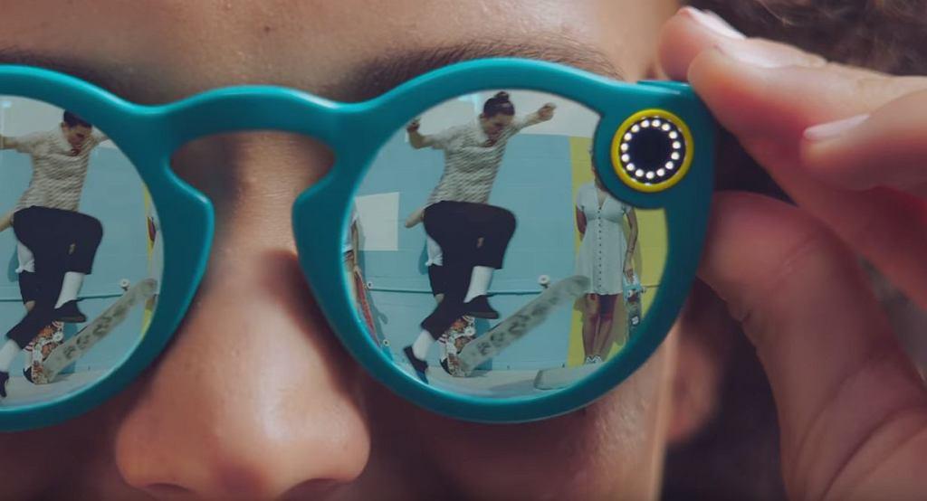 Snapchat prezentuje swoje okulary