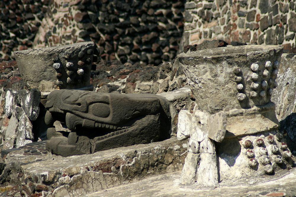 Miasto Meksyk. Ruiny Templo Mayor / Shutterstock