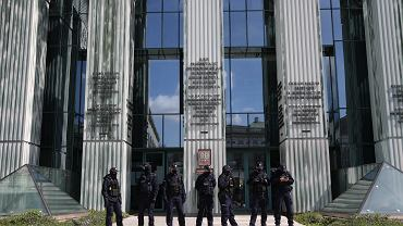 Blokada Sądu Najwyższego w Warszawie przez Obywateli RP w ramach solidarności z sędzią Igorem Tuleyą, kwiecień 2021