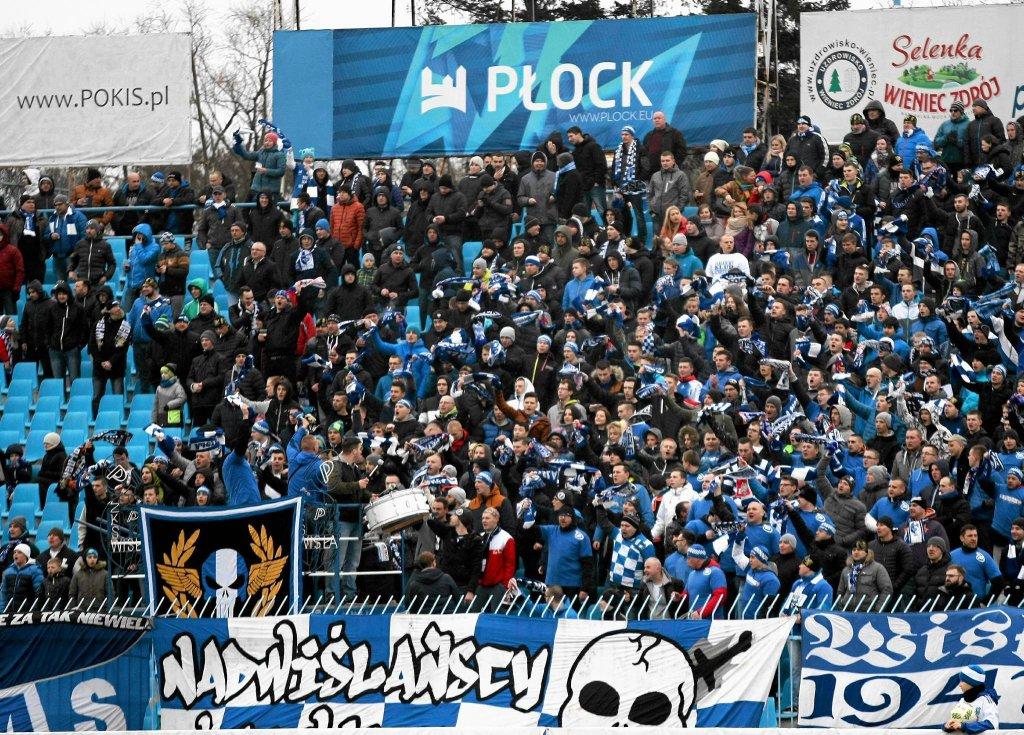 Pierwszy mecz Wisły w Płocku obejrzało z trybun ok. 3,2 tys. osób