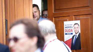 Poseł Przemysław Czarnek nie wziął udziału w konferencji prasowej PiS