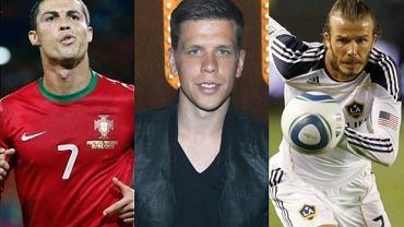 Szczęsny, Christiano Ronaldo, David Beckham.