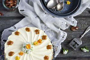 Szybki tort orzechowy - w sam raz na jesień