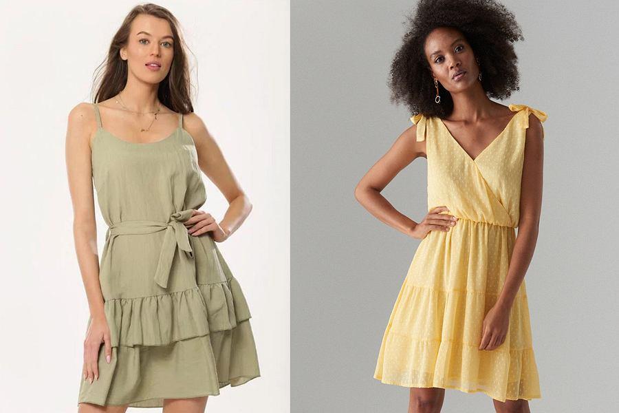 Sukienki powiększające biust