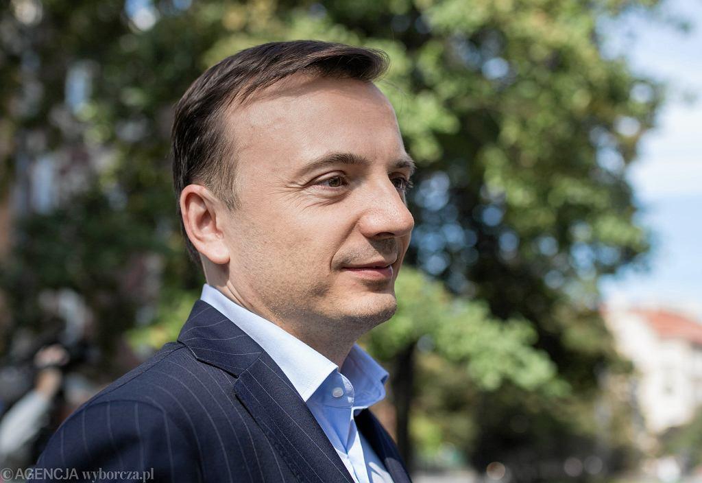 Wybory samorządowe 2018 w Krakowie. Łukasz Gibała przedstawił swój pomysł na zagospodarowanie Bulwarów Wiślanych