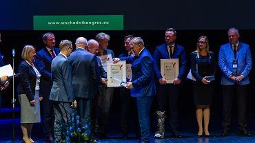 Miasto Białystok otrzymało nagrodę Top Inwestycje Polski Wschodniej 2018 podczas Wschodniego Kongresu Gospodarczego