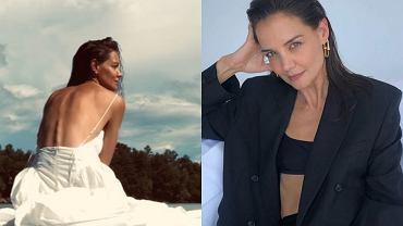Katie Holmes wzięła ślub? Aktorka zapozowała w białej sukni