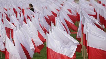 Dzień Flagi - Warszawa, Arkady Kubickiego, 2 maja 2020