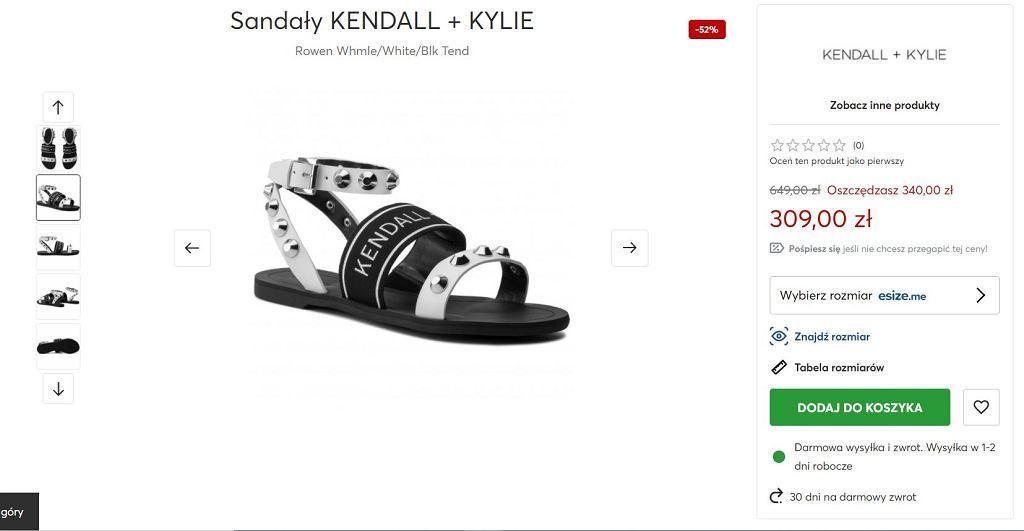 Sandały Kendall + Kylie