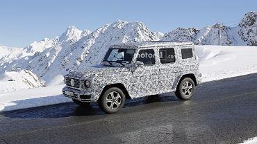 Prototyp Mercedesa klasy G 2018