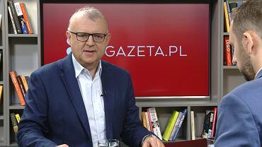 Kazimierz Michał Ujazdowski w porannej rozmowie Gazeta.pl