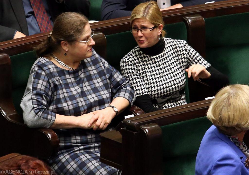 Krystyna Pawłowicz i Iwona Arent