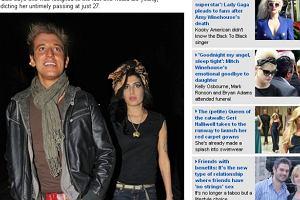 Alex Foden i Amy Winehouse.