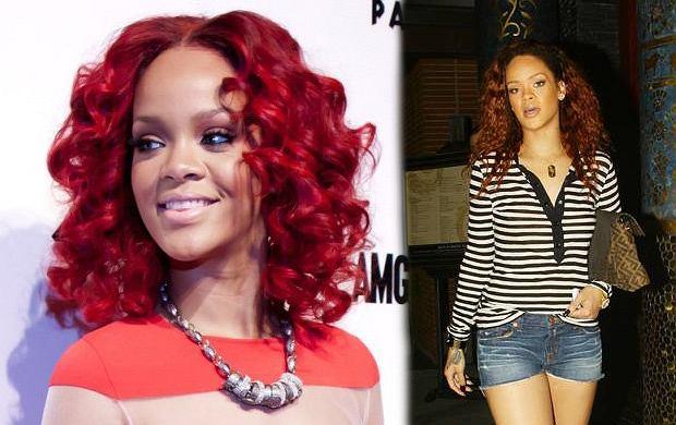 Rihanna znów zmieniła kolor włosów