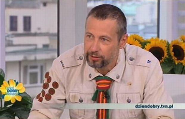 Szymon Majewski i jego nowa fryzura