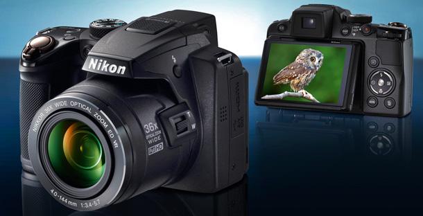 ultrazoom, aparat fotograficzny, cyfrówka, Nikon, Coolpix