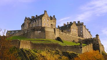 edynburg, zamek, szkocja