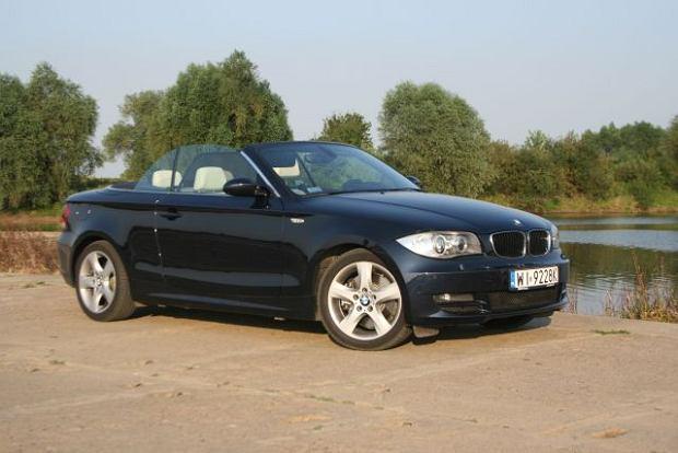 BMW 123d Cabrio - test | Za kierownicą