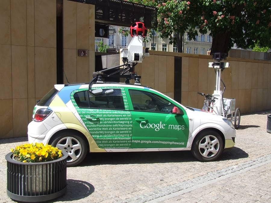 Google Street View w Polsce