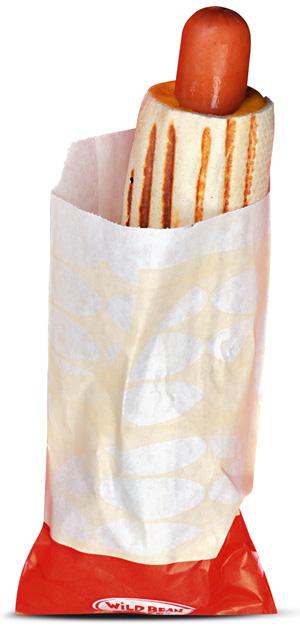 parówki, hot dog