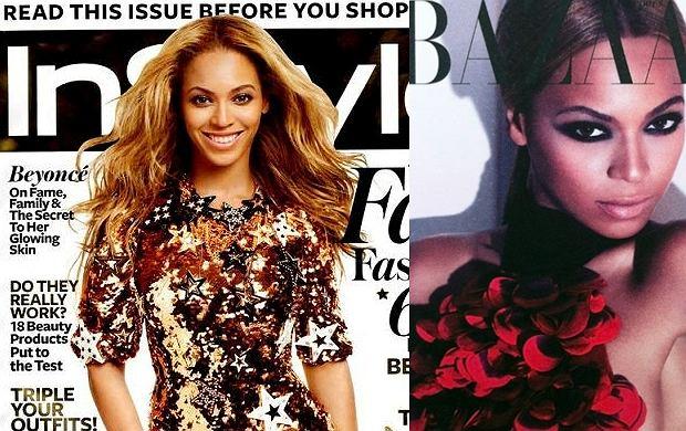 Beyoncé na okładce magazynu InStyle