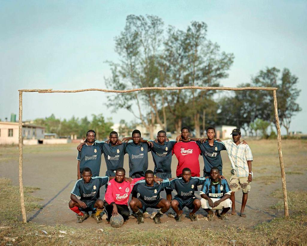 Drużyna piłkarska z Mozambiku