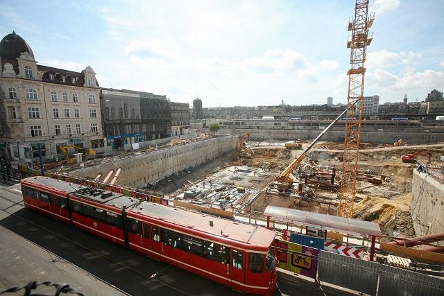 Budowa nowego dworca i galerii handlowej w Katowicach