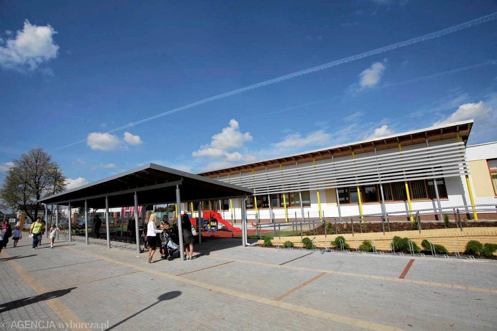 Nowo wybudowana Szkoła Podstawowa nr 112 przy ul. Berensona na Białołęce