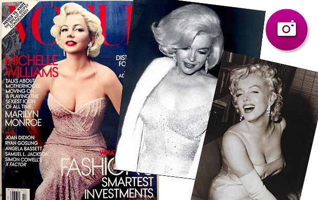 Michelle Williams na okładce Vogue'a jako Marilyn Monroe