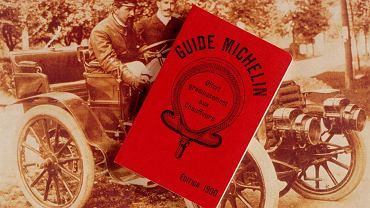 Reprint pierwszego wydania przewodnika Michelin z 1900 r.