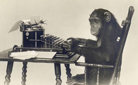 Małpy są w stanie odtworzyć wszystkie dzieła Szekspira?