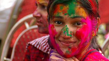 festiwal, Holi, Indie