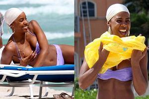 Kelly Rowland nieźle sobie radzi bez Beyonce. Wokalistka nie tylko nagrywa z najlepszymi didżejami i jest obecnie diwą muzyki klubowej, ale cieszy się też dobra kondycją. Co za piersi! Co za ciało! Spójrzcie sami.