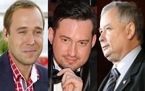 jarosław kaczyński, marcin prokop, łukasz nowicki, wzrost gwiazd, wzrost