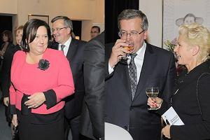Anna Komorowska i Bronisław Komorowski niespodziewanie pojawili się na benefisie Wojciecha Młynarskiego. Para prezydencka bawiła się... no właśnie, jak?