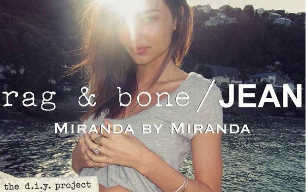 Kampania Rag & Bone DIY - Miranda Kerr, foto: Orlando Bloom i Lily Aldridge