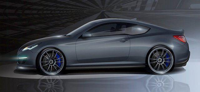 Hyundai Genesis Coupe Hurricane