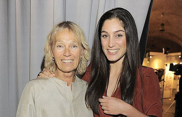 Małgorzata Braunek z córką Oriną