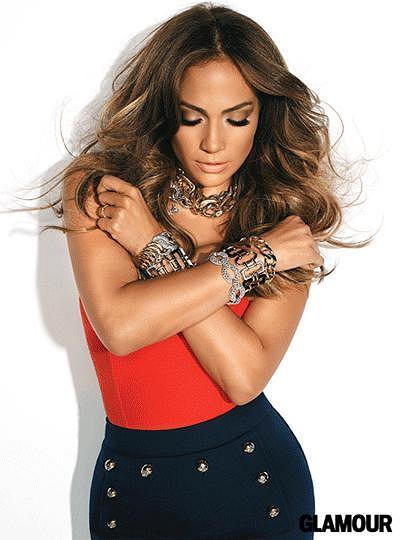 Zdjęcie numer 2 w galerii - J.Lo na okładce nowego Glamour