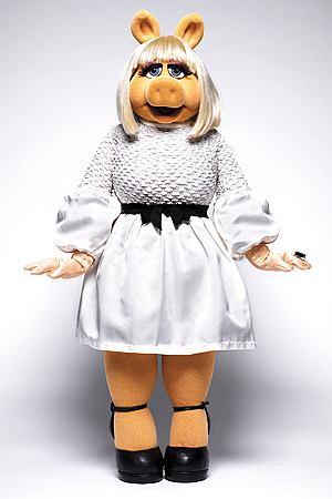 Miss Piggy dla InStyle