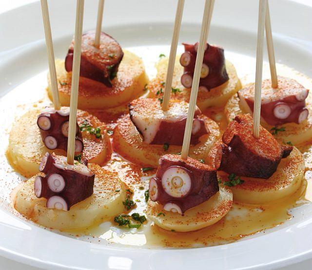 Ośmiornica po galicyjsku z ziemniakami
