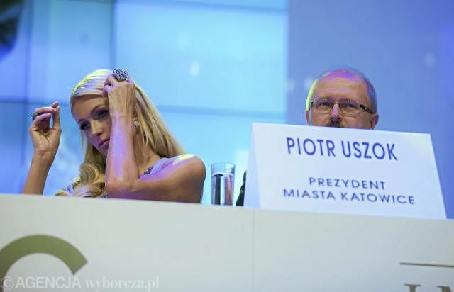 Paris Hilton i Piotr Uszok