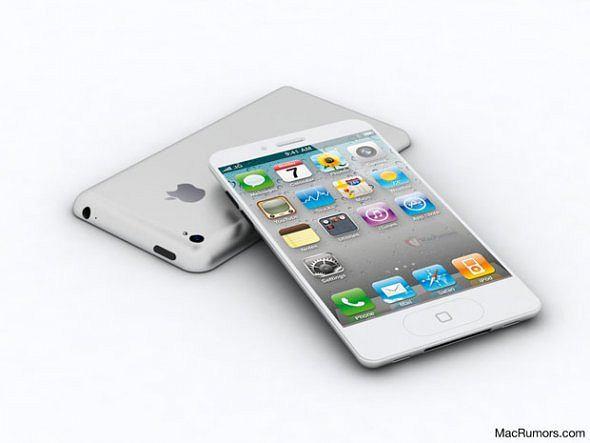 Tak wygląda iPhone 5?