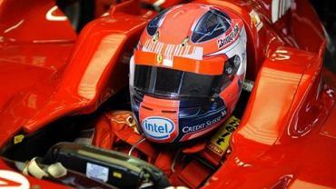 Robert Kubica w Ferrari