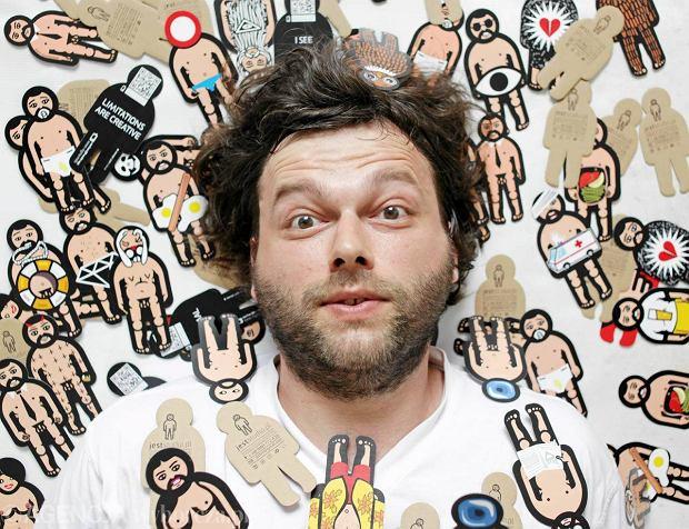 Jan Tchórzewski,artysta grafik, 2011 r.